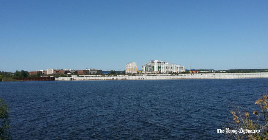 Главгосэкспертиза одобрила проект строительства защитной дамбы на левом берегу Волги в Дубне